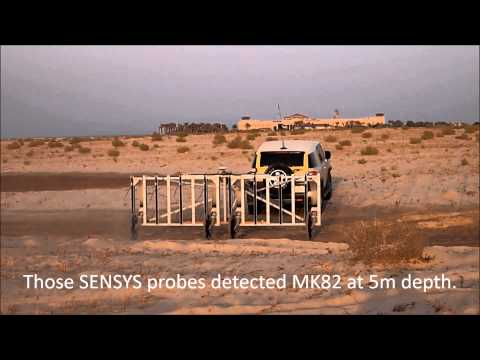 Vehicle towed magnetometer system MAGNETO MX