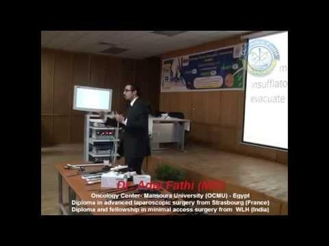Pneumoperitoneum and port insertion during laparoscopy (part-1) د/عادل فتحي