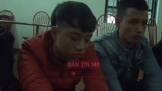 Bắt nhóm thanh niên cầm dao, chặn xe xin tiền trên cao tốc Nội Bài - Lào Cai | Tin nóng 24H