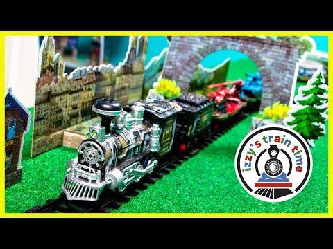 Toy Trains for Kids! MILITARY TRAIN FAIL!