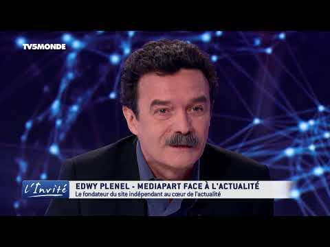 """Edwy PLENEL : """"Sarkozy a été mis dans les cordes par les juges"""""""