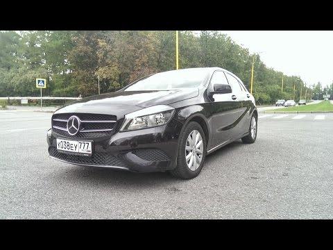 Mercedes-Benz A180 / Тест-драйв Mercedes-Benz А180