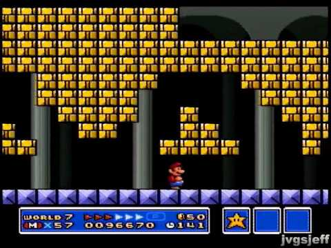 Super Mario Bros  3 - World 7 Fortress #1