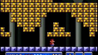 Super Mario Bros. 3 - World 7 Fortress #1