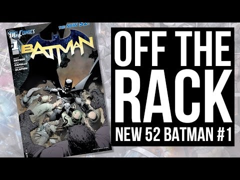 BATMAN #1 From The New 52 On Off The Rack
