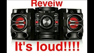 review on 230 W LG HI-FI system!!!