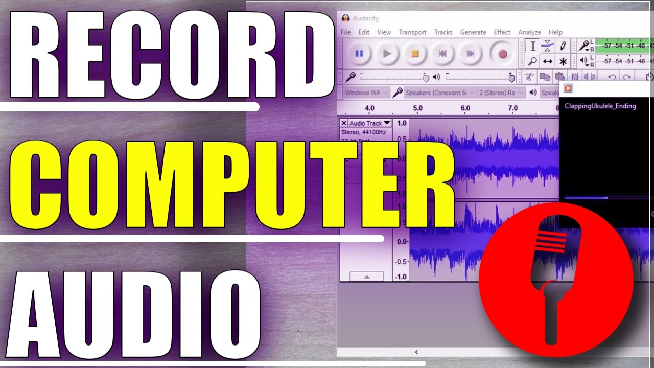 How To Record Computer Audio With Audacity/Record Streaming Audio With  Audacity 🎧