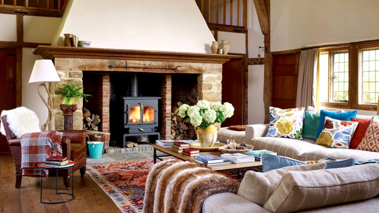 65 Cozy Country Living Room Ideas You, Country Living Room