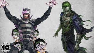 Top 10 Alternate Versions Of Joker - Part 5 - Fan Art Edition