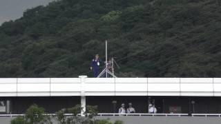 和歌山にブルーインパルスがやってきた! 紀の国 わかやま国体 ブルーインパルス 予行飛行 2015.9.25