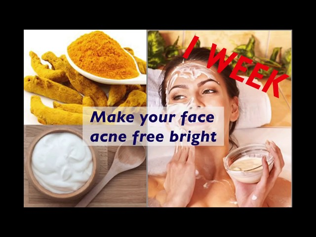 With in One Week glowing skin magic ! Acne Free
