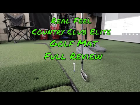 Real Feel Country Club Elite Golf Mat Full Review
