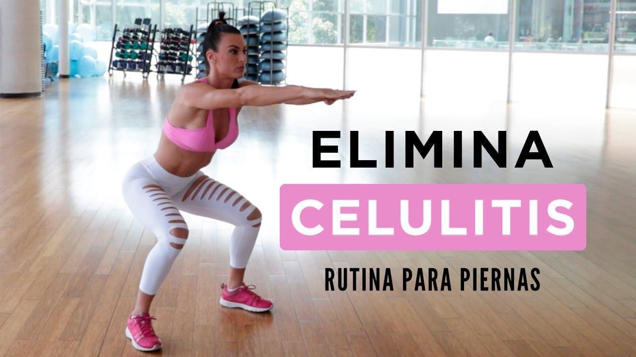 Elimina Celulitis Rutina Para Piernas Youtube