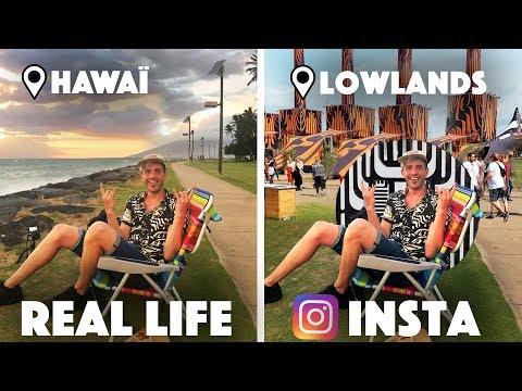 IK DEED 2 DAGEN ALSOF IK OP LOWLANDS WAS... (vanuit Hawaï)