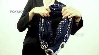 FOXTROT - как носить наши шарфы и платки(Представляем вам видео, где мы покажем вам несколько способов, как носить шарфы и платки чешского производи..., 2014-10-29T12:50:38.000Z)