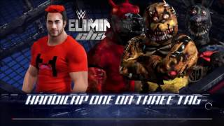 Markiplier Vs FNAF WWE 2k17 Who Will Win