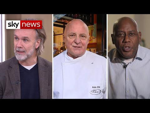 Celebrity Chefs Pay Tribute To Gary Rhodes