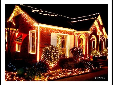 How To Decorate House For Christmas, Outside House Appearance And Yard  Decor (Part 2)