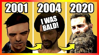 Evolution of HAIRCUTS LOGIC in ROCKSTAR Games (GTA & RDR2)