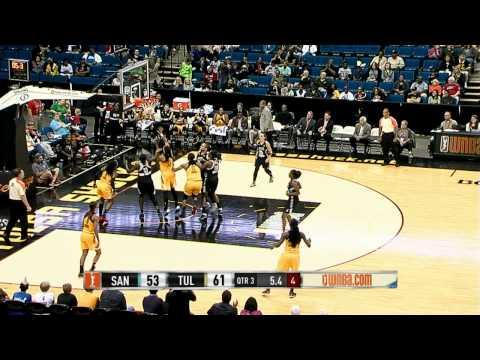 Game Recap: San Antonio Stars vs Tulsa Shock