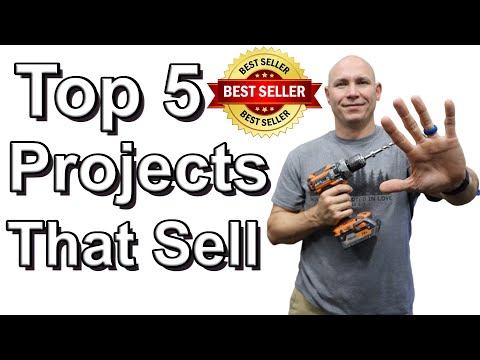 Top 5 Woodworking Projects That Sell