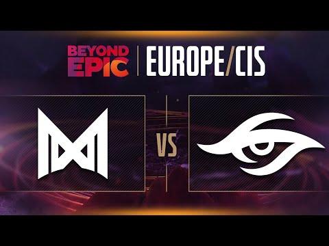 Nigma vs Secret Game 3 - Beyond Epic: EU/CIS - GRAND FINALS w/ lizZard & Trent