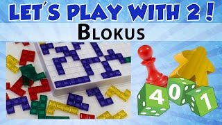 Let's Play with 2: Blokus
