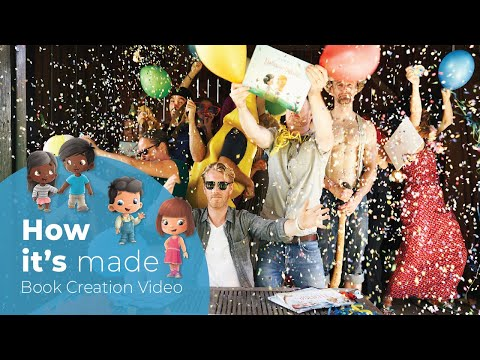 hooray-heroes---how-it's-made:-personalized-books-for-children-and-family