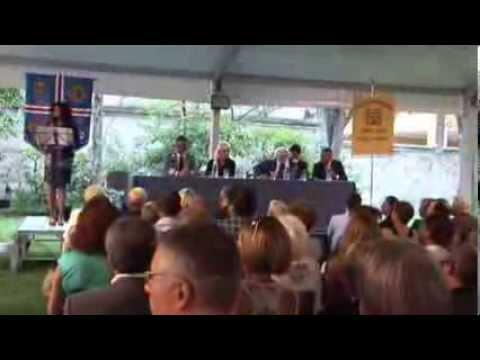 """Inaugurazione """"Mantova ARTquake 2013 - L'arte della solidarietà"""""""