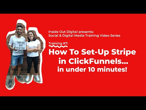 How To Set Up & Integrate Stripe in ClickFunnels