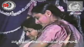Savitri Behaviour with Gemini Ganesan First Wife Alamelu | Savitri Rare Video Footage | Gossip Adda