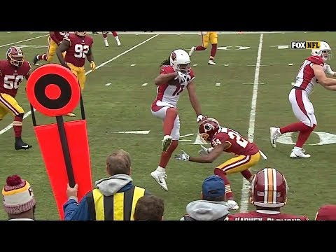 Larry Fitzgerald vs Josh Norman & Kendall Fuller (2017) | WR vs CB Highlights