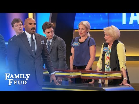 Good news! Blind date's RICH! Oh wait... | Family Feud