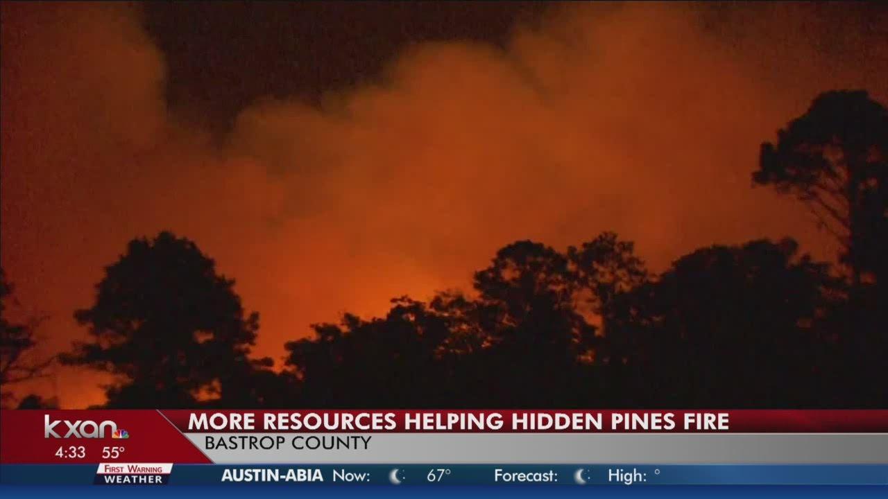 Hidden Pines fire now 4,200 acres burned