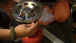 Газовая горелка 2 кВт с пьезоподжигом NBP 200