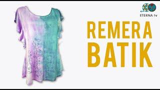 Remera Batik | Silvana Mendoza en Sabores y Algo Más