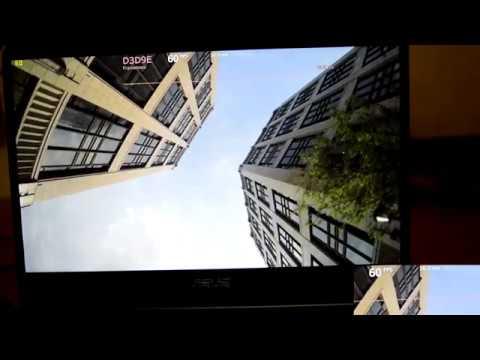 Nvidia MX150 4k Video playback Test (asus ux430 un)