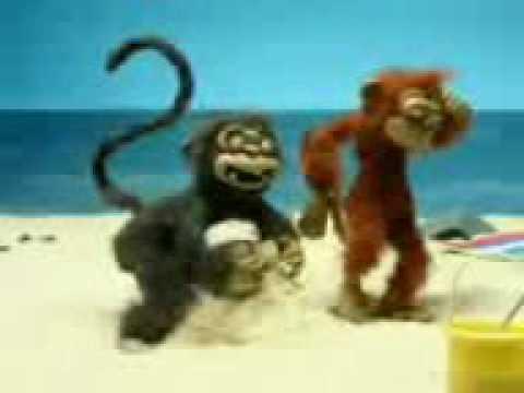 Animated monkeys having sex
