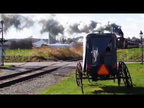 Strasburg Railroad at Paradise Lane, Pennsylvania