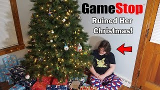 Gamestop Ruined My Wife's Christmas!