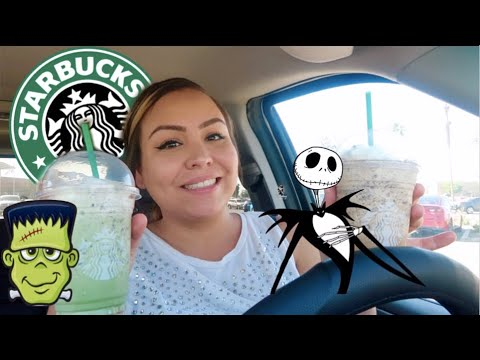 TRYING-STARBUCKS-HALLOWEEN-SECRET-MENU-DRINKS