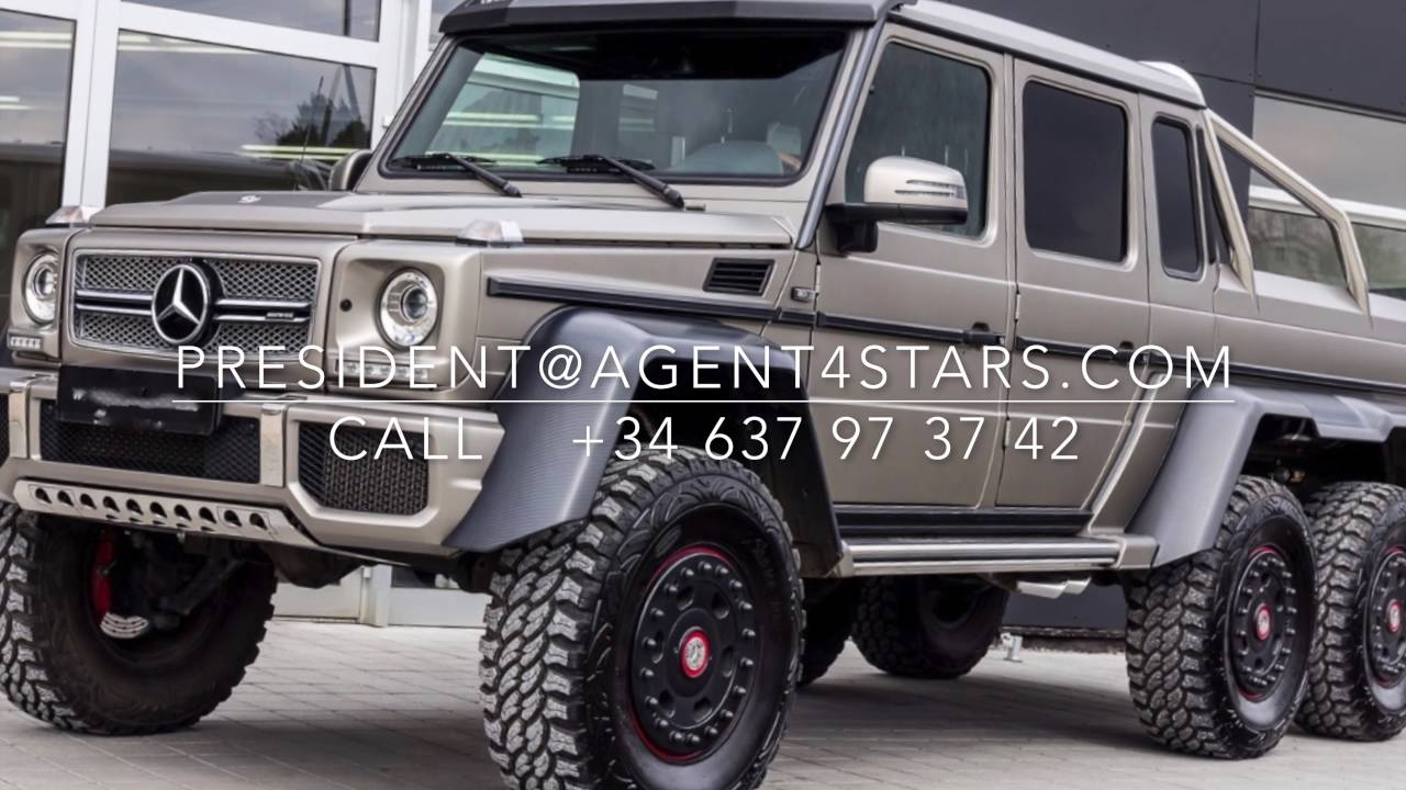 Mercedes benz g 63 amg brabus mansory 6x6 for sale 1 100 for Mercedes benz g wagon 6x6 for sale
