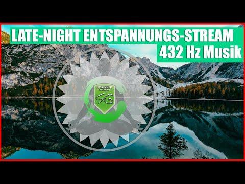 Late-Night Entspannungsstream mit 432Hz Musik und Wohlfühlatmosphäre