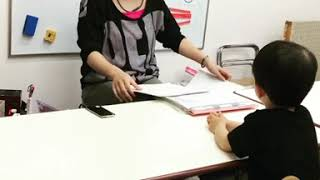 こんにちは  EQWELチャイルドアカデミー静岡駅前教室です。 今日も年少...