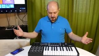 ОНЛАЙН ТРЕЙД.РУ MIDI-Клавиатура M-Audio CODE 25