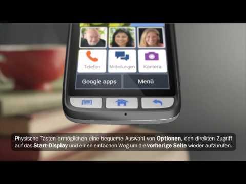 Doro Liberto® 820 - Produktvideo - Das mehrfach ausgezeichnete Smartphone mit einfacher Bedienung
