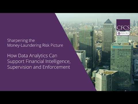 How Data Analytics Can Support Financial Intelligence, Supervision and Enforcement
