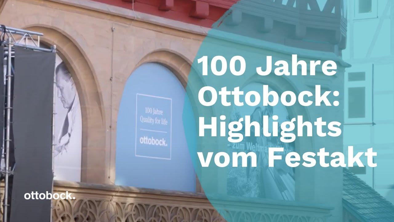 Download 100 Jahre Ottobock - Highlights vom Festakt   Ottobock