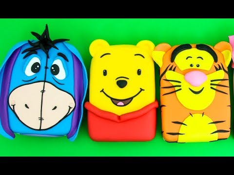 WINNIE THE POOH Cakes - How to make by Cakes StepbyStep