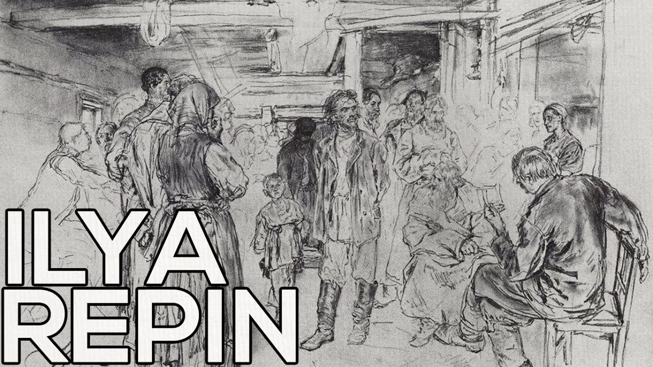 Ilya repin a collection of 77 sketches hd